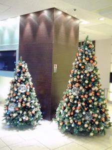 秋田キャッスルホテルさんのクリスマスツリー①