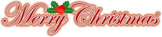 メリークリスマス文字