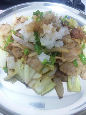 1106野菜炒め