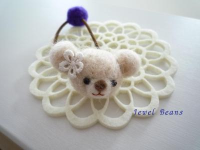 羊毛ポニー