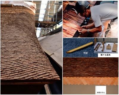 檜皮屋根画像1