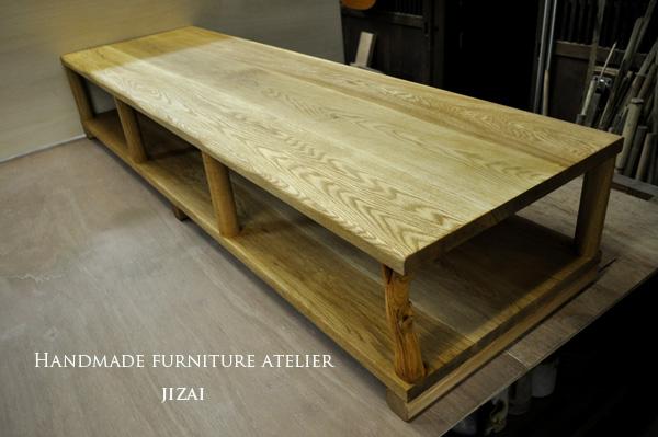 テレビ台 じざい工房の素材を生かす家具作り