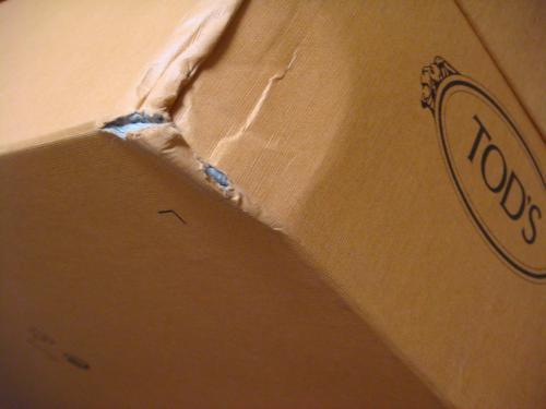 Tods slip on box