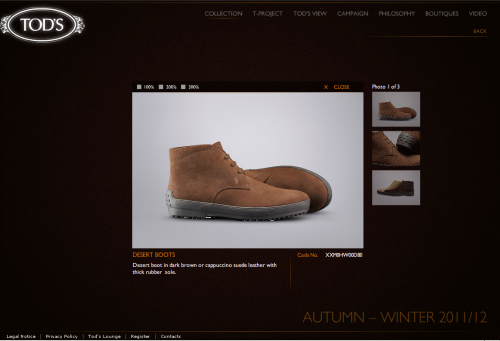 tods web