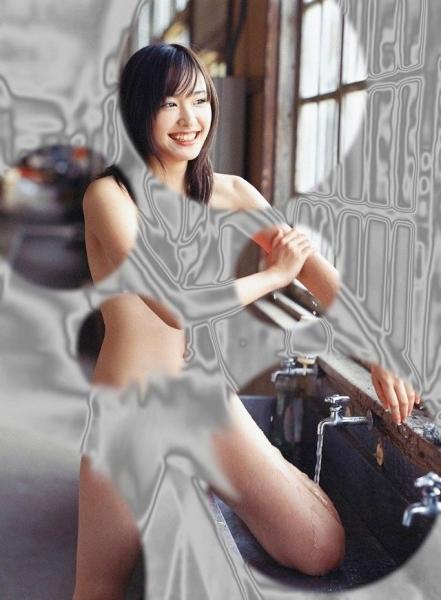 裸に見えちゃう水玉アイコラ画像52