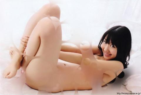 AKB48が裸に見える透明水玉透けアイコラ画像22