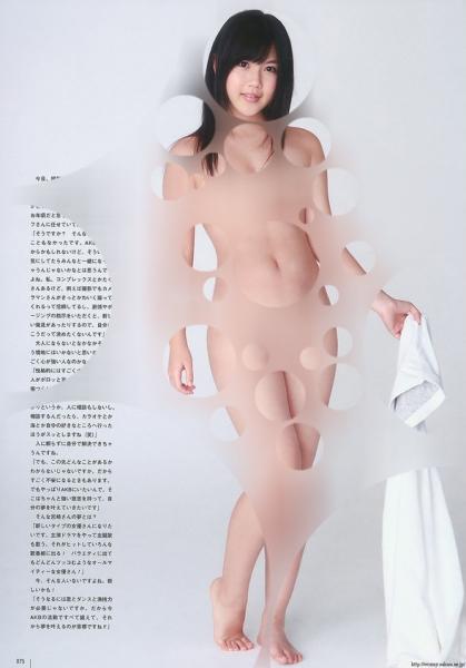 AKB48が裸に見える透明水玉透けアイコラ画像21