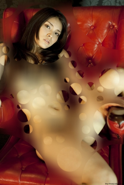 AKB48が裸に見える透明水玉透けアイコラ画像10