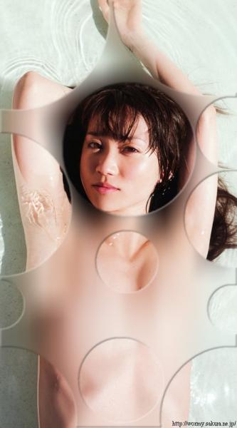 AKB48が裸に見える透明水玉透けアイコラ画像9