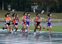 中学女子1500米
