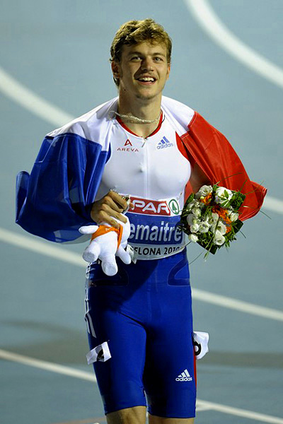 Christophe Lemaitre 2010 European Champion