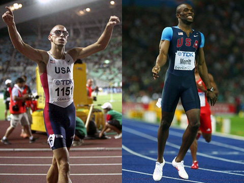 Jeremy Wariner & LaShawn Merritt
