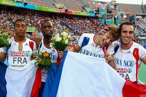 Christophe Lemaitre (4x100m relay)