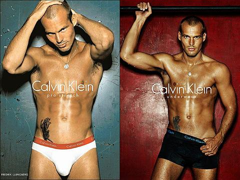Freddie Ljungberg for Calvin Klein