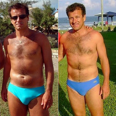 Dunga in Speedo