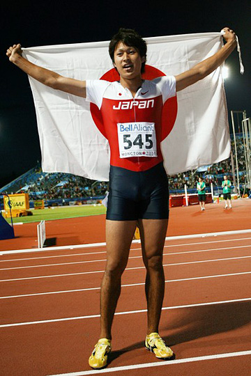 飯塚翔太(2010年世界陸上ジュニア選手権200m金メダル)