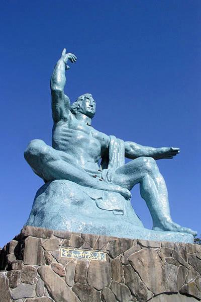 長崎 平和祈念像