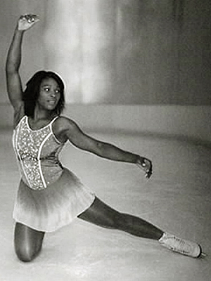 Serena Williams - Figure Skater?!