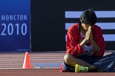 戸辺直人(2010年世界陸上ジュニア選手権走り高跳び銅メダル)