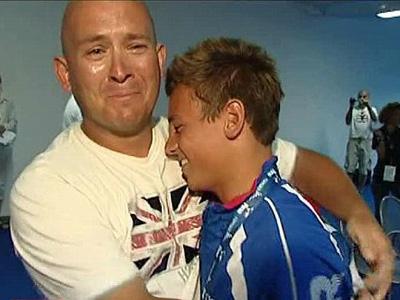 Tom Daley & his dad Rob