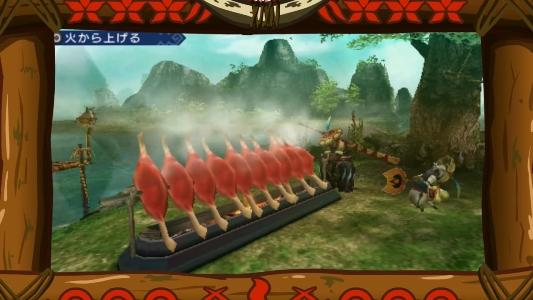 PSP『MHP3rd』鷹の爪団コラボ゙映像04