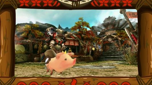 PSP『MHP3rd』鷹の爪団コラボ゙映像05