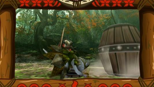PSP『MHP3rd』鷹の爪団コラボ゙映像02