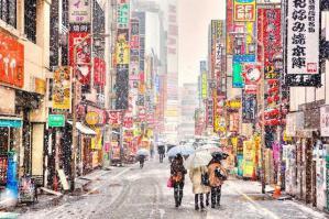 雪の歌舞伎町