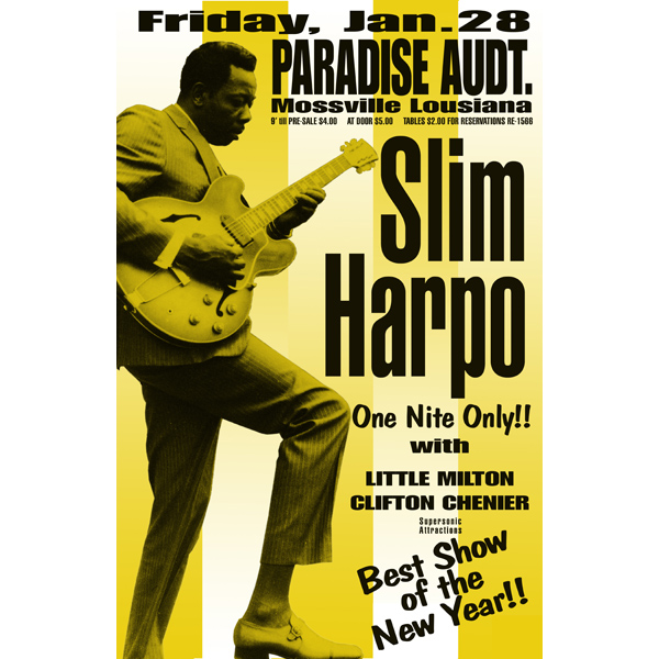 HIDDEN CHARMS SLIM HARPO $ TE-...