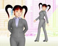 3DキャラクターOL壁紙01092
