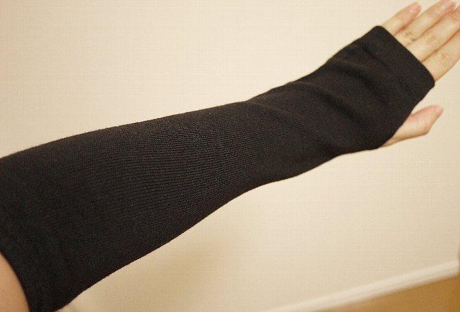 着用図:手の甲側