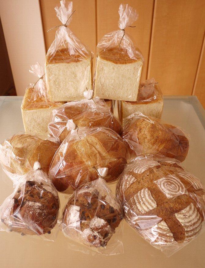 山のようなパン