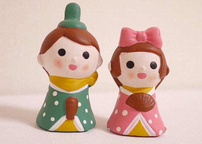 陶器の人形