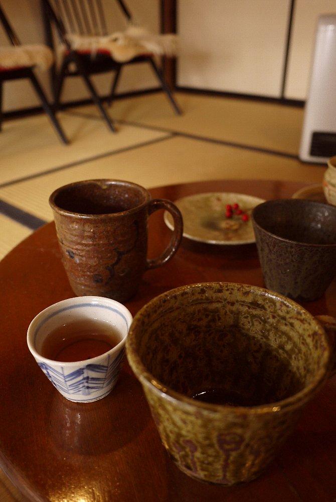 サービスのお茶