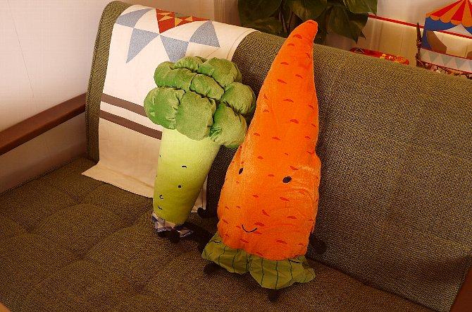 野菜のクッション
