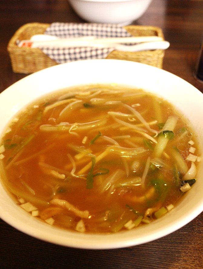 野菜あんかけスープミーセン