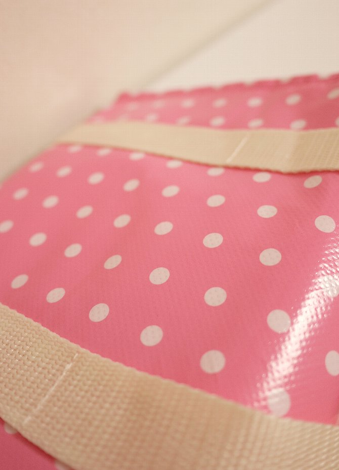 ピンクのドット