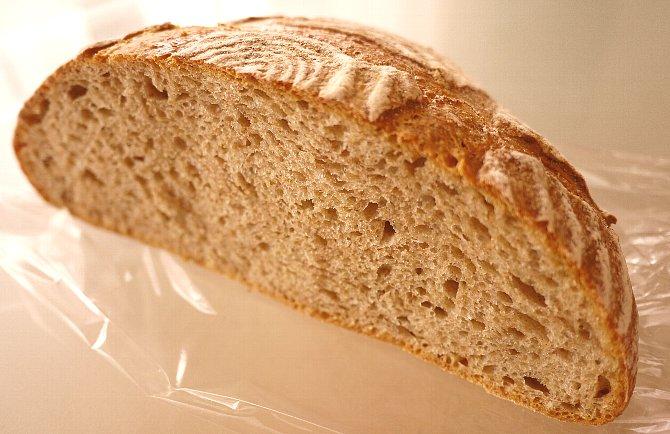 ライ麦のカンパーニュ