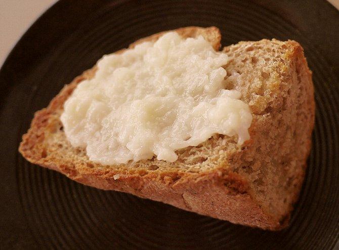 パンに付けて