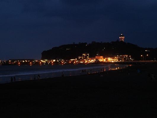 黄昏の江ノ島20130922