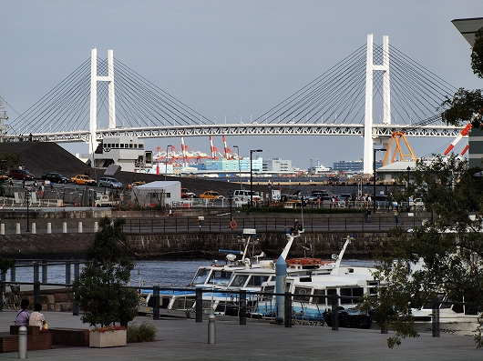 横浜ベイブリッジ20130923