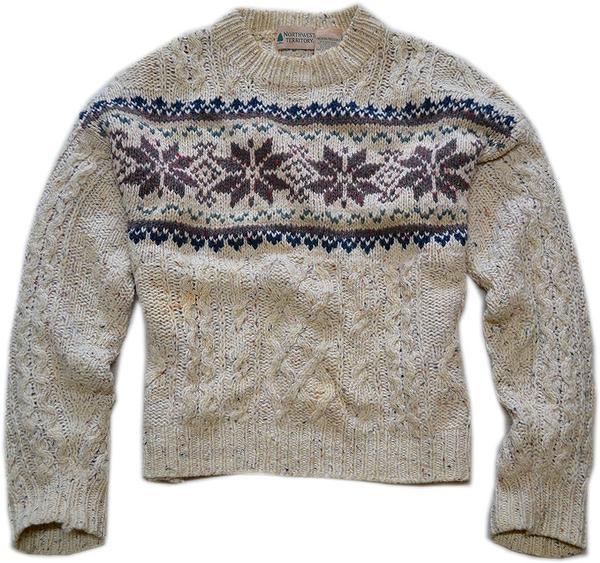 USEDニットセーター画像03