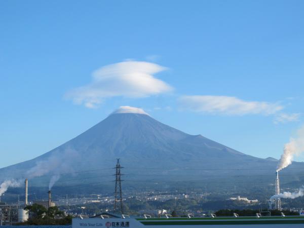 富士山とつるし雲と・・・