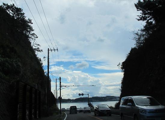 稲村ヶ崎付近