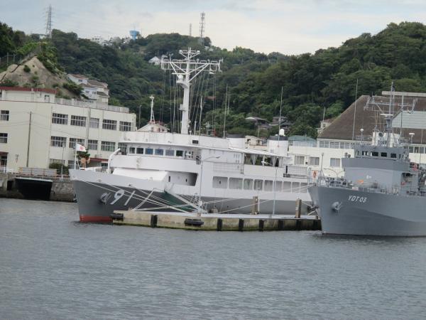 水中処分母船YDT-03,特務艇はしだて