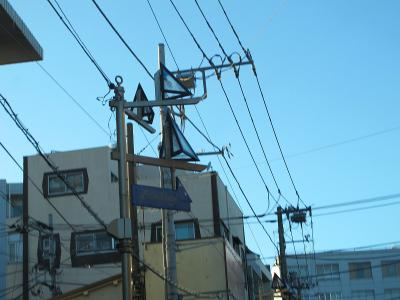 逗子、葉山辺り 街灯