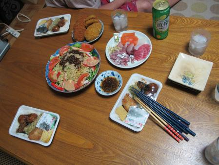 2012年9月15日晩ご飯