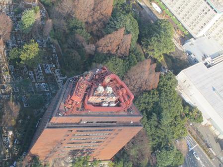 東京タワー大展望台より