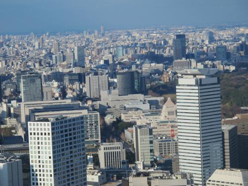 東京タワー特別展望台より