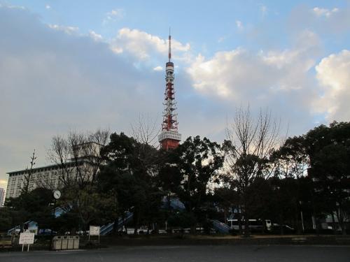芝公園より東京タワー